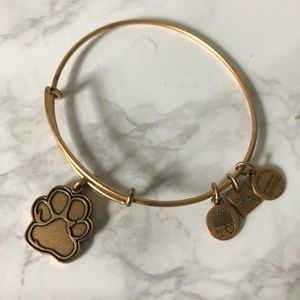 Alex and Ani Charm Bracelet Paw Print